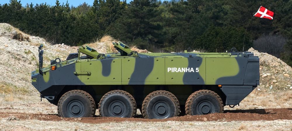 Piranha V 8x8 armored personnel carrier